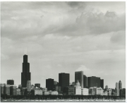 The City-Skyline  Chicago 1984